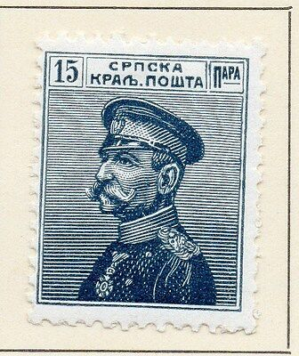 Serbia 1913 Early Issue Fine Mint Hinged 15p. 147581