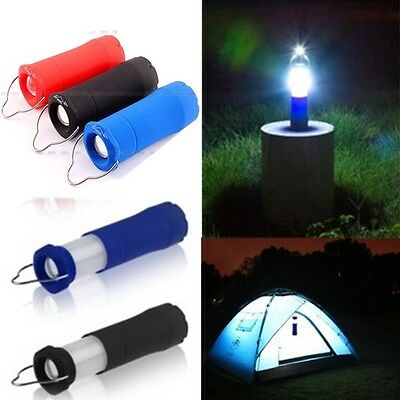 New Outdoor Tent Camping 3W Lantern Light Lamp Hiking LED Flashlight Torch