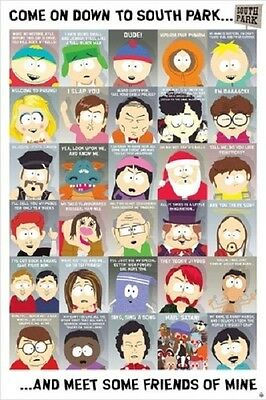 South Park Chart Poster (61X91Cm) New Licensed