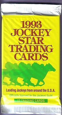 1993 Jockey Star Trading Cards Pack Officially Licensed by the Jockey's Guild