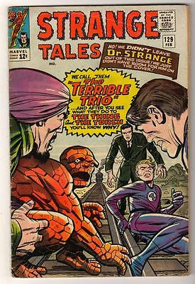 MARVEL STRANGE TALES 129  KIRBY DITKO  VG 4.0  Human torch FF4 terrible trio