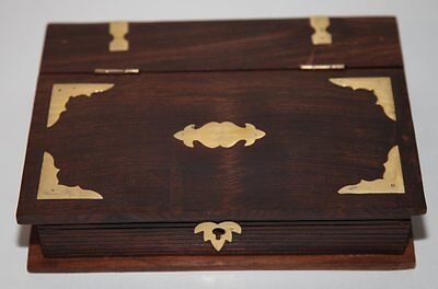 Fantastic wooden book box with lock