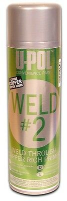 UPol WELDC/AL WELD #2 Copper Rich Primer - 450ml U-Pol New