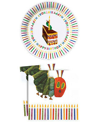 Cool Very Hungry Caterpillar Plates And Napkins Gallery - Best Image ...
