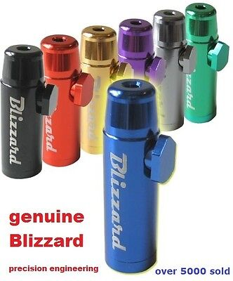 Snorter Sniffer Snuff Powder Bullet Dispenser Genuine Blizzard 1    Buy 2 Get 3