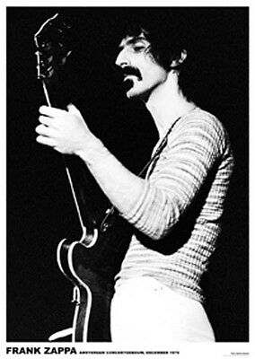 FRANK ZAPPA MUSIC POSTER (59x84cm) NEW LICENSED
