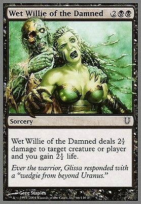 4x Wet Willie of the Damned MTG MAGIC Unh Unhinged English