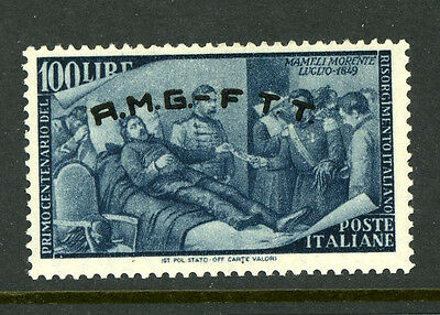 Italy Trieste 29 Mint 100L Missing Period Variety MOG Sassone 29a €220.00 5E9 27
