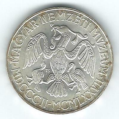 1977 Hungary National Museum Silver 200 Forint, Unc.