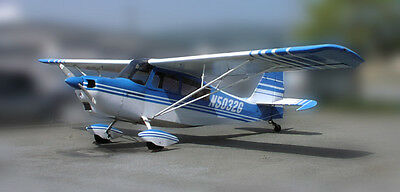 Giant 1/4 Scale CITABRIA scratch build r/c Plane Plans 104 in. wing span