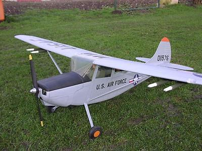 Cessna O-1E/L-19 BIRD DOG scratch build r/c Plane Plans  72 in. wingspan