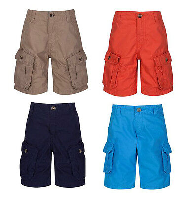 Boys FTHS Ex High Street multiple Pocket Cargo Shorts Navy Ages 12 Mths - 14 YRS