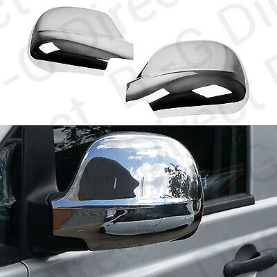 Mercedes Vito W639 2003-2010 Stainless Steel Chrome Door Wing Mirror Cap Covers