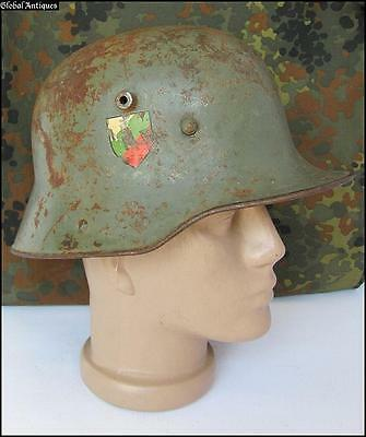 Wwi Original German Ally Type M16 Combat Steel Helmet Rare