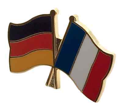 Germany /& Philippines Friendship Flags Gold Plated Enamel Lapel Pin Badge