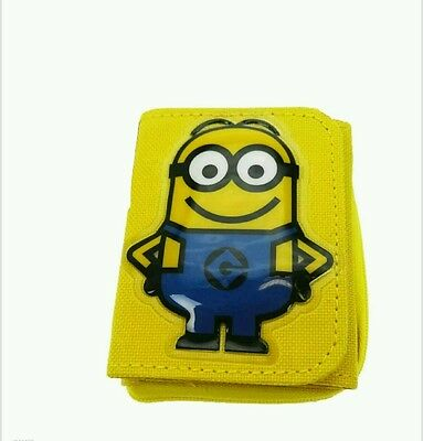 Minions Kids Character Wallet/Purse Despicable Me Free P&P