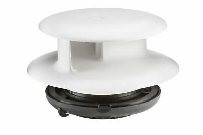 Flettner TCX-2 Van Wind Driven Roof Vent in White Narrow Size Fitting