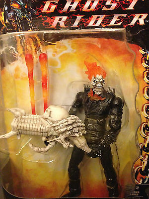 "Ghost Rider Fire Blast 6"" Action Figure Marvel Hasbro New in box"