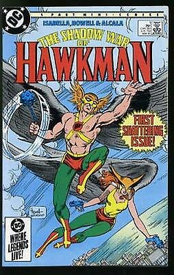 Shadow War Of Hawkman #1-4 Very Fine / Near Mint Complete Set 1985