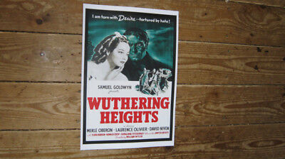 Wuthering Heights Laurence Olivier Repro POSTER