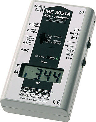 Gigahertz Solutions ME3951A EMF Meter Gauss Meter - TOP OF THE LINE!