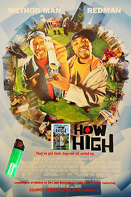 "Authentic METHOD MAN / REDMAN ""How High"" Movie Promo Survival Kit RARE"