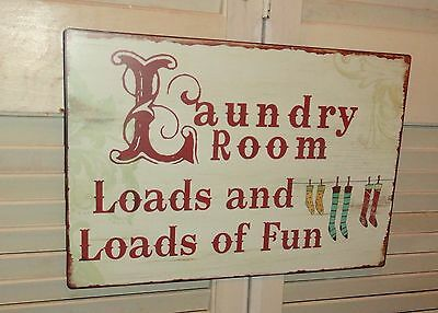 Laundry Room Metal Sign Wall Decor Signs Home Decor Plaques And Signs