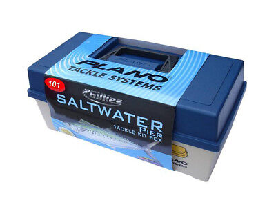 Plano Saltwater Tackle Kit - Fishing Tackle Box With 101 Pieces Of Tackle