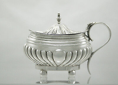 Antique Silver Mustard Pot Birmingham 1900 Robert Pringle & Sons
