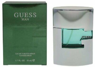 GUESS MAN 1.7 oz EDT eau de toilette Men's Spray Cologne 50 ml NEW NIB