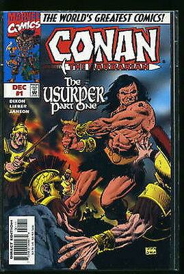Conan The Barbarian The Usurper #1-3 Vf/nm Complete Set 1997 Marvel