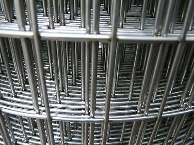 "12"" Wide 1"" X 2"" 14g Stainless Welded Wire Mesh hardware cloth sold per foot"