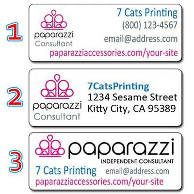 Paparazzi Accessories Consultant Return Address Labels Custom Stickers Buy3 Get1