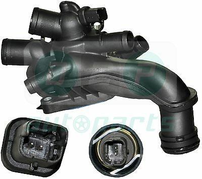 For Citroen DS3 1.6 THP (2009-2015) Thermostat Housing with Sensor 1336Z6