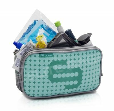 Elite Isothermal Cool Bag / Case for Insulin & Diabetic Kit Organiser Green