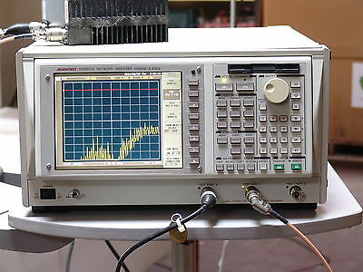 Advantest R3765CG Network Analyzer opt 11 - 300 kHz - 3.8 GHz