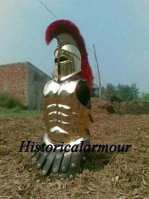 Brass Antique ~ Medieval Roman Spartan ~ Greek Corinthian~ Armor ~ Muscle Jacket