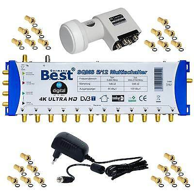 Pmse 5/12 Multiswitch Best Germany Lnb 12 Subscriber Multi Swich Sat Distributor