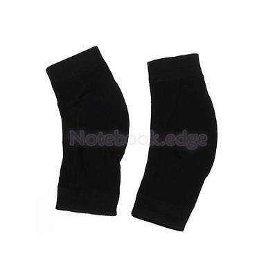 Winter Sports Bike Bicycle Cycle Knee Warmers Basketball Running Protector Blk
