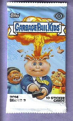 2014 Garbage Pail Kids  Series 2 Unopened Sticker Hobby Pack from Box!