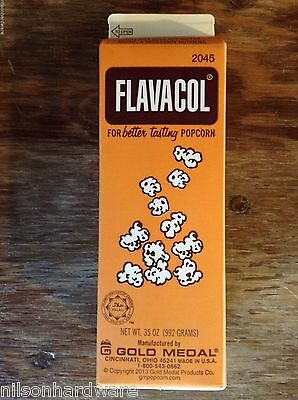 Flavacol Seasoning Popcorn Pop Corn Salt Ingredient Yellow Theater Color 2045