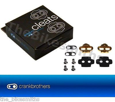 Crank Brothers Original Premium Pedal Cleats fits Eggbeater Candy Mallet Smarty