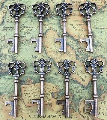 40x Vintage Skeleton Key Bottle Opener Bridal Shower Wedding Favor Decoration