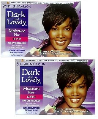 2x Dark and Lovely - Relaxer / Glättungscreme Moisture Plus SUPER