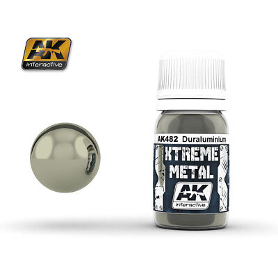 AK Interactive 30ml Extreme Metal Paints - Duraluminium # 482