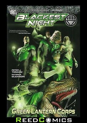 BLACKEST NIGHT GREEN LANTERN CORPS GRAPHIC NOVEL New Paperback Collects #39-47