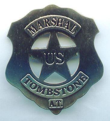 US Marshal Stern Tombstone  A.T.  Western Sheriff