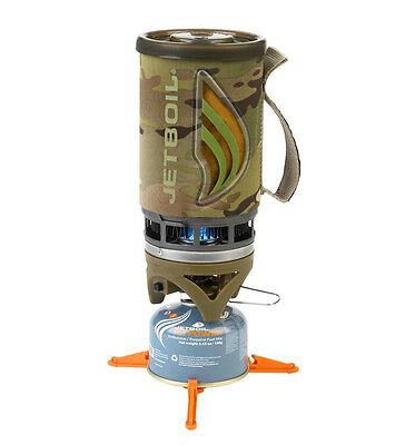 Jetboil Flash Stove Camo Lightweight Compact Camping Hiking Biker Jet Boil