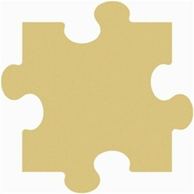 Puzzle Unfinished Wood Shape Cut Outs Variety of Sizes USA Made!