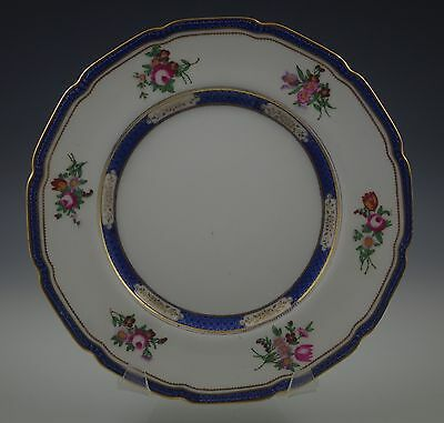 Noritake Japan Dresleigh 3935 Flowers Gold Square Luncheon Plate